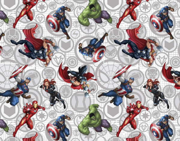 Baumwollgewebe - Marvel Comics The Avengers