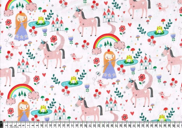 Patchwork - Little Princess Prinzessin und Einhorn