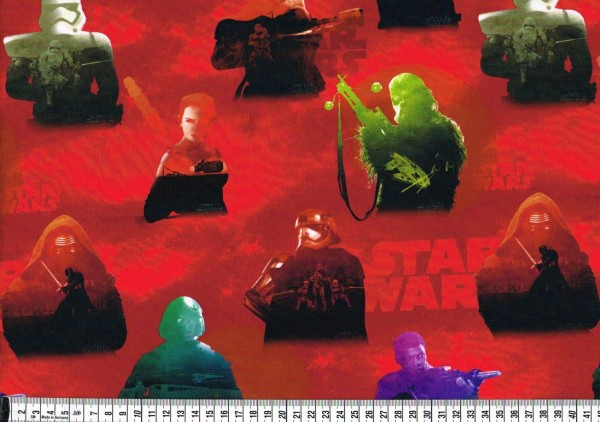 Baumwolljersey - Star Wars Figuren